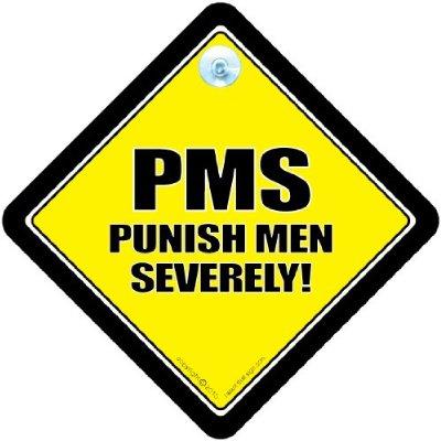 PMS car sign